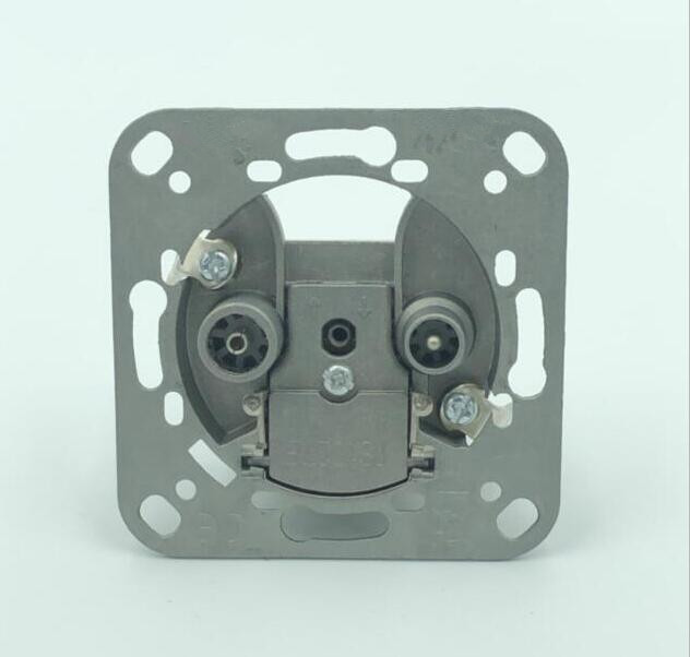 5-2450MHZ 2 Hole TV+SAT Wall Socket Outlet(SHJ-TWS008)