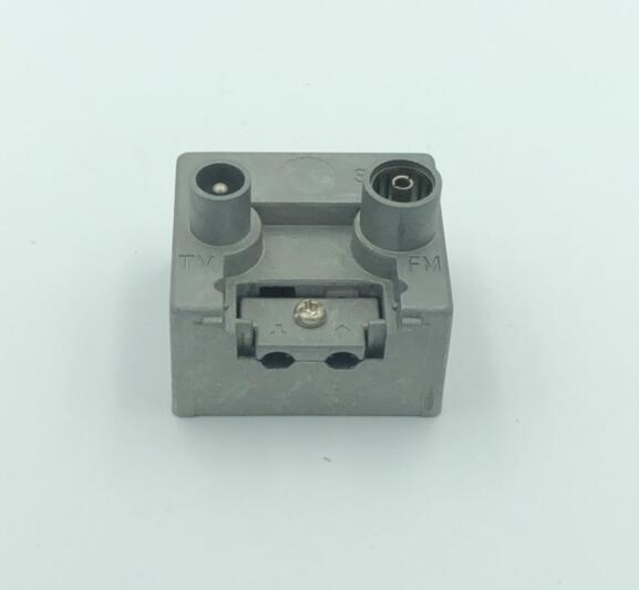 2 Hole 5-1000MHZ TV+FM Wall Socket Outlet(SHJ-TWS015)