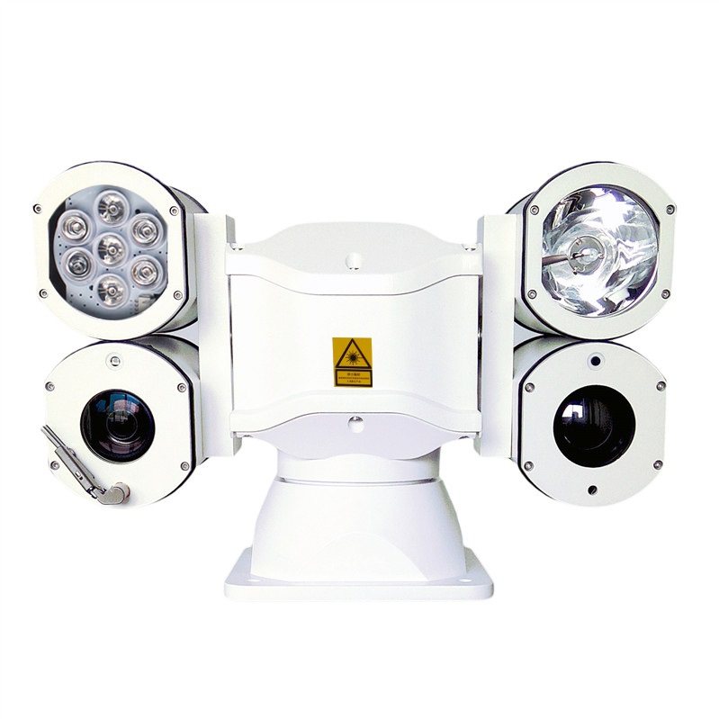 Infrared Xenon Lampe and Laser Multiple Fill Light PTZ Camera(SHJ-TW10-M)