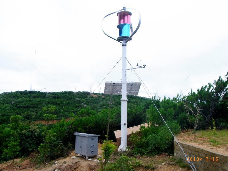 Q-Type Vertical Axis Wind Turbine 100W-400W(SHJ-NEVQ100-Q400)