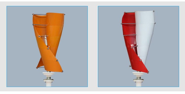 S-Type Vertical Axis Wind Turbine 1KW-3KW(SHJ-NEVS1K-3K)