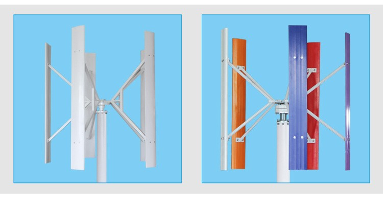 H-Type Vertical Axis Wind Turbine 1KW-10KW(SHJ-NEVH1K-10K)