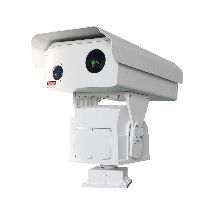 3km visible light 1.5km thermal imaging dual-light fog penetration HD integrated intelligent heavy-duty PTZ camera(SHJ-TX35-HD-T-36M-75M)