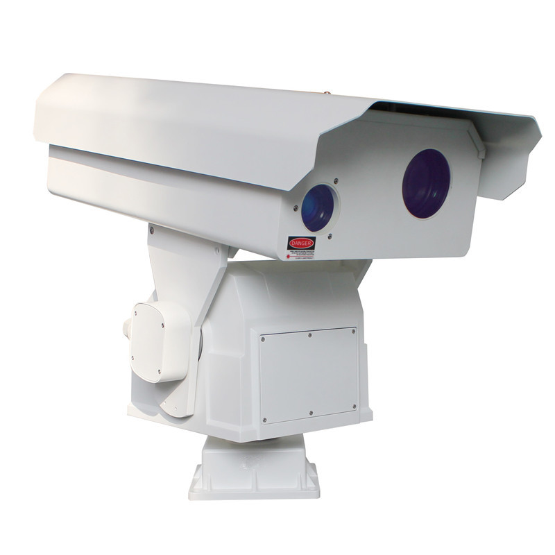 5km visible light 2.5km thermal imaging dual-light fog penetration HD integrated intelligent heavy-duty PTZ camera(SHJ-TX40-HD-T-50M-100M)
