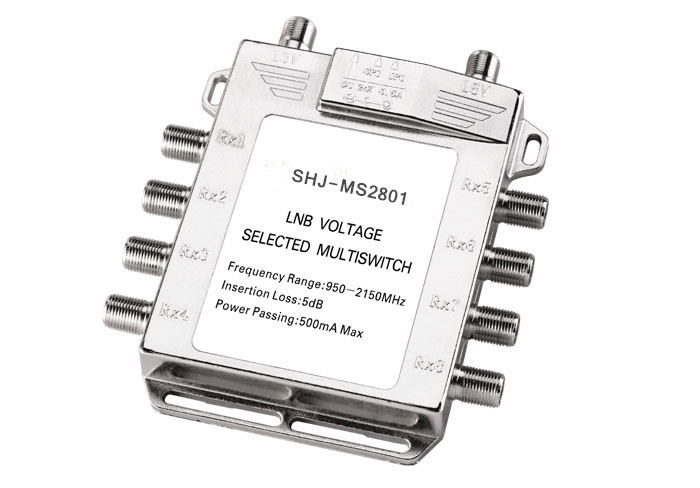 950-2150MHZ 2 in 8 Satellite TV Multi-switch(SHJ-MS2801)