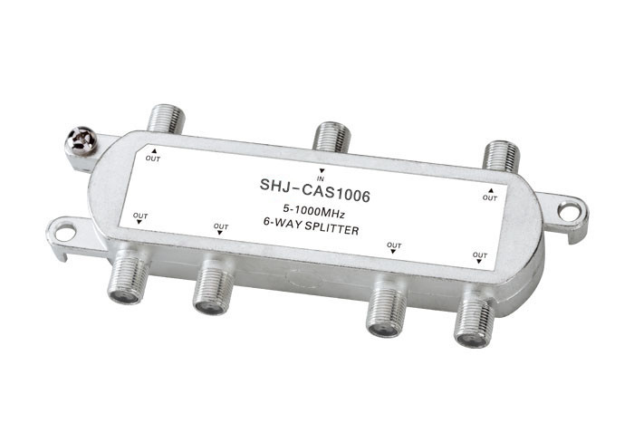 5-1000MHZ 6-Way Indoor Splitter(SHJ-CAS1006)