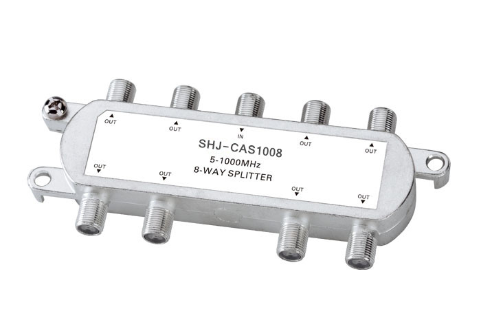 5-1000MHZ 8-Way Indoor Splitter(SHJ-CAS1008)